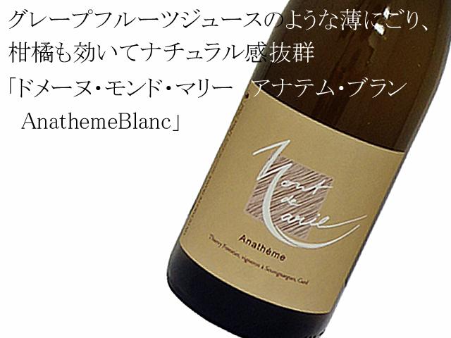 ドメーヌ・モンド・マリー アナテム・ブラン AnathemeBlanc