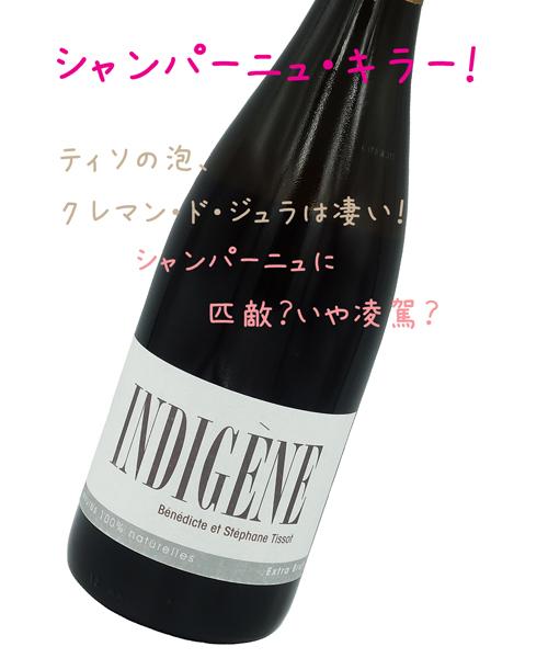 ステファン・ティソ/STEPHANE TISSOT アンディジェンヌ/INDIGENE(白・泡)