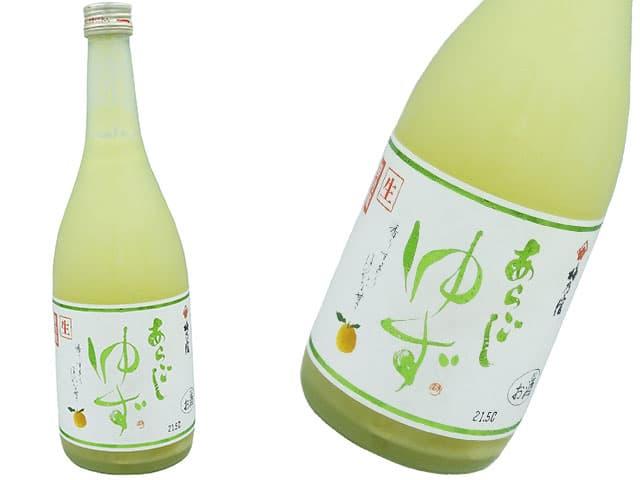 梅乃宿 生果汁使用 あらごしゆず 生