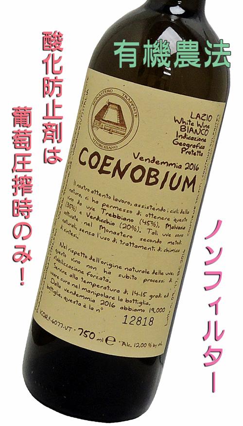 コエノビウム2016 生産者モナステーロ・ディ・ヴィトルキアーノ