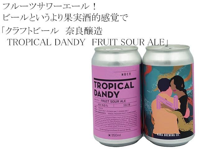 奈良醸造 フルーツサワーエール  トロピカル・ダンディーTROPICAL DANDY